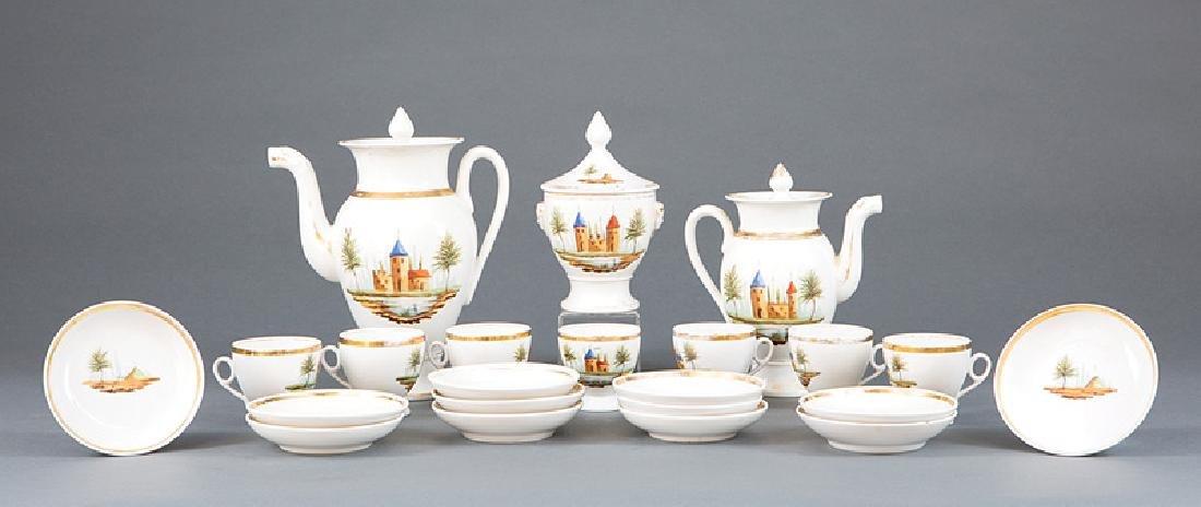 Paris Porcelain Partial Coffee Service