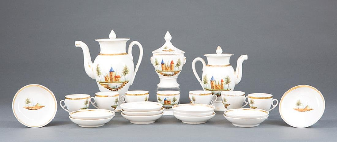 Paris Porcelain Partial Coffee Service
