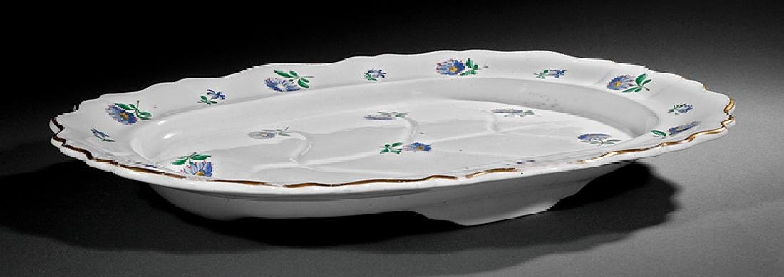 English Ironstone Well-and-Tree Meat Platter - 2