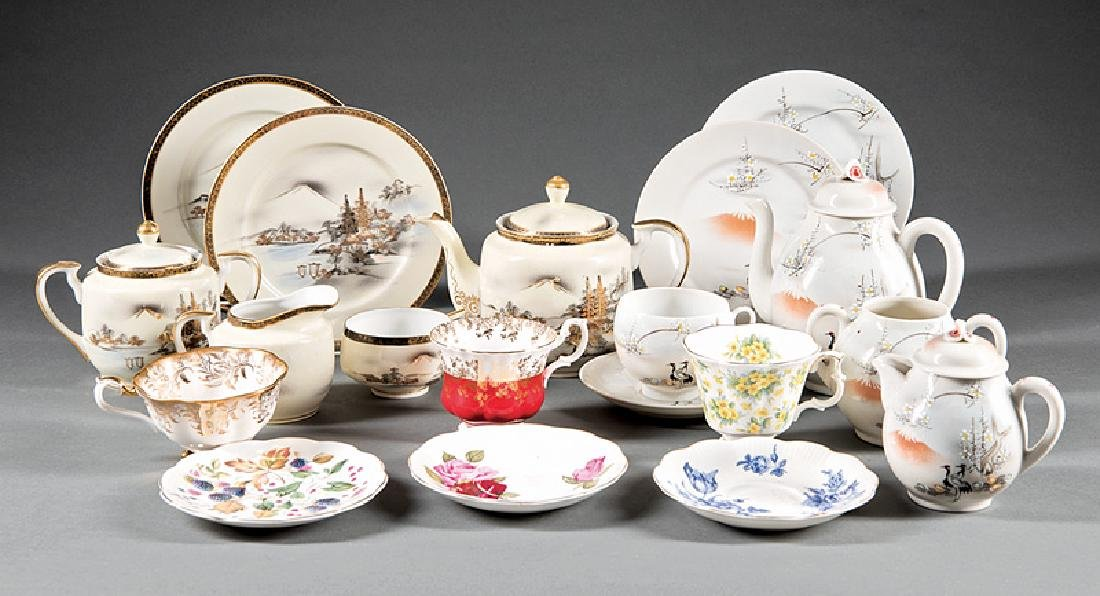 English and Japanese Porcelain Teaware