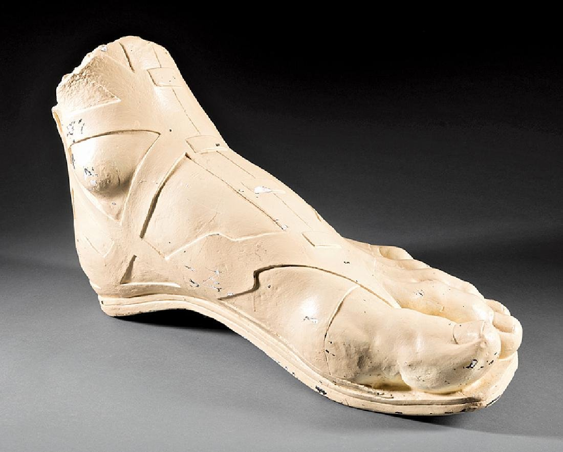 Monumental Plaster Model of a Roman Foot