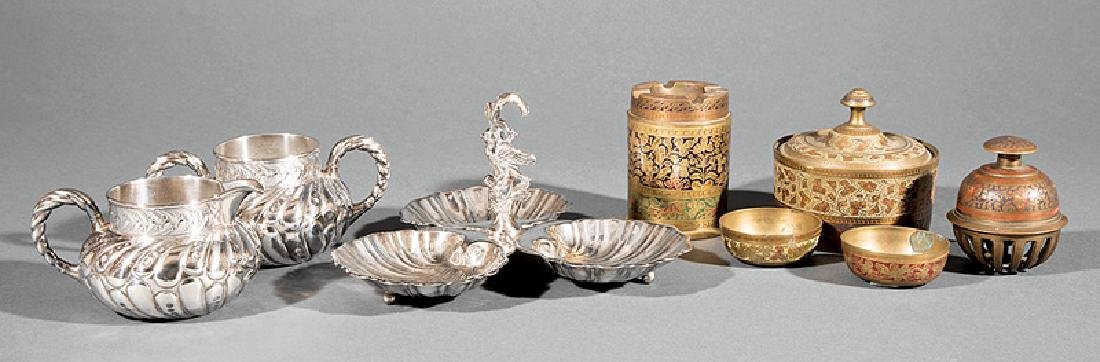 Three American Silverplate Tablewares