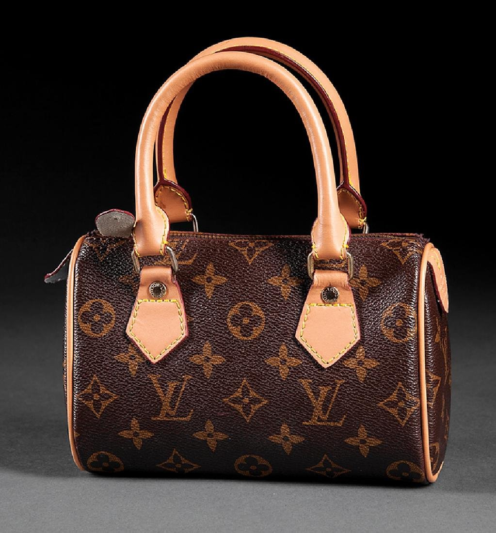 Louis Vuitton Mini Speedy Handbag