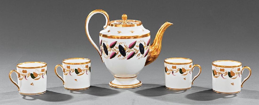 Associated Group of Paris Porcelain Tea Ware