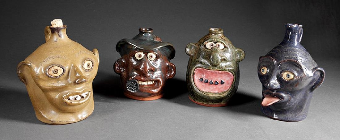 Face Jugs by Brian Wilson and J. H. Perdue