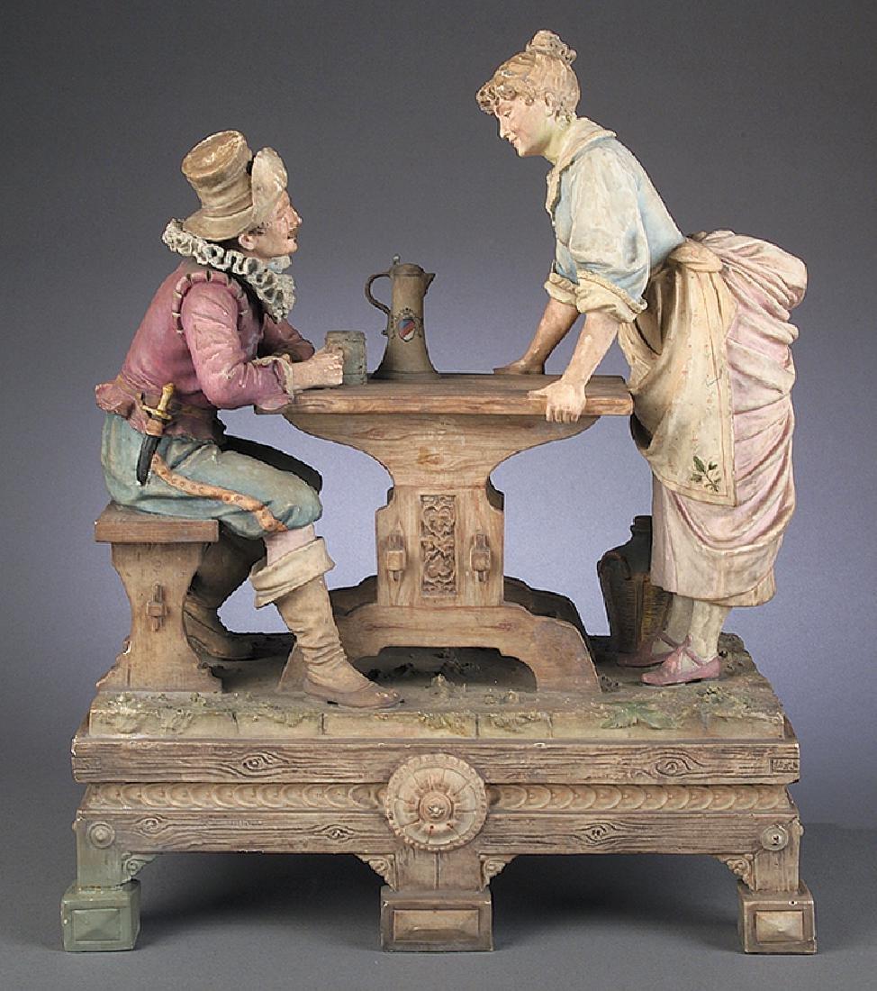 Continental Porcelain Decorative Objects