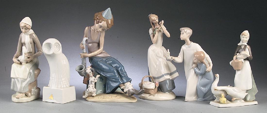 Fourteen Continental Porcelain Figures - 2