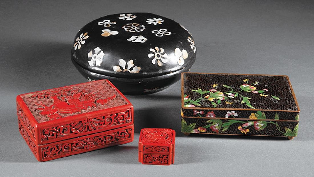 Four Chinese Boxes