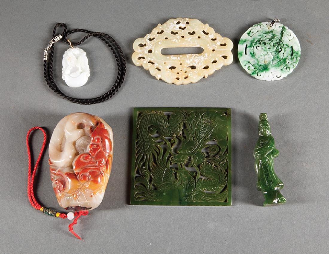 Chinese Jade, Jadeite and Soapstone Group