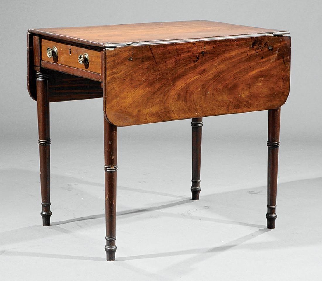 American Late Federal Mahogany Pembroke Table