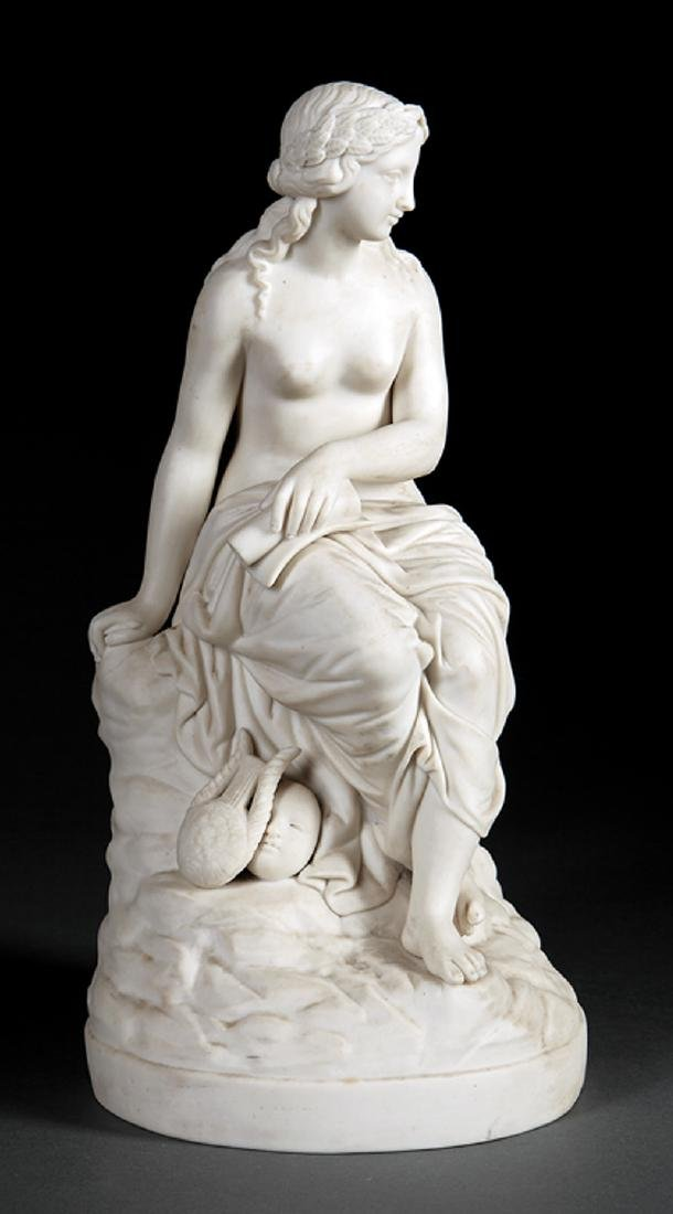 Parian Figure of a Muse