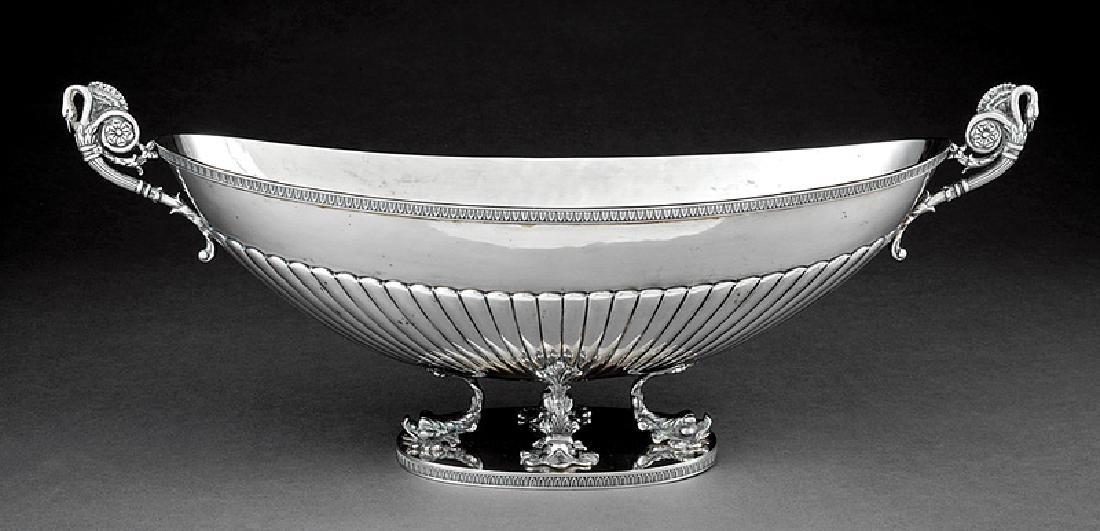Italian .800 Silver Centerpiece