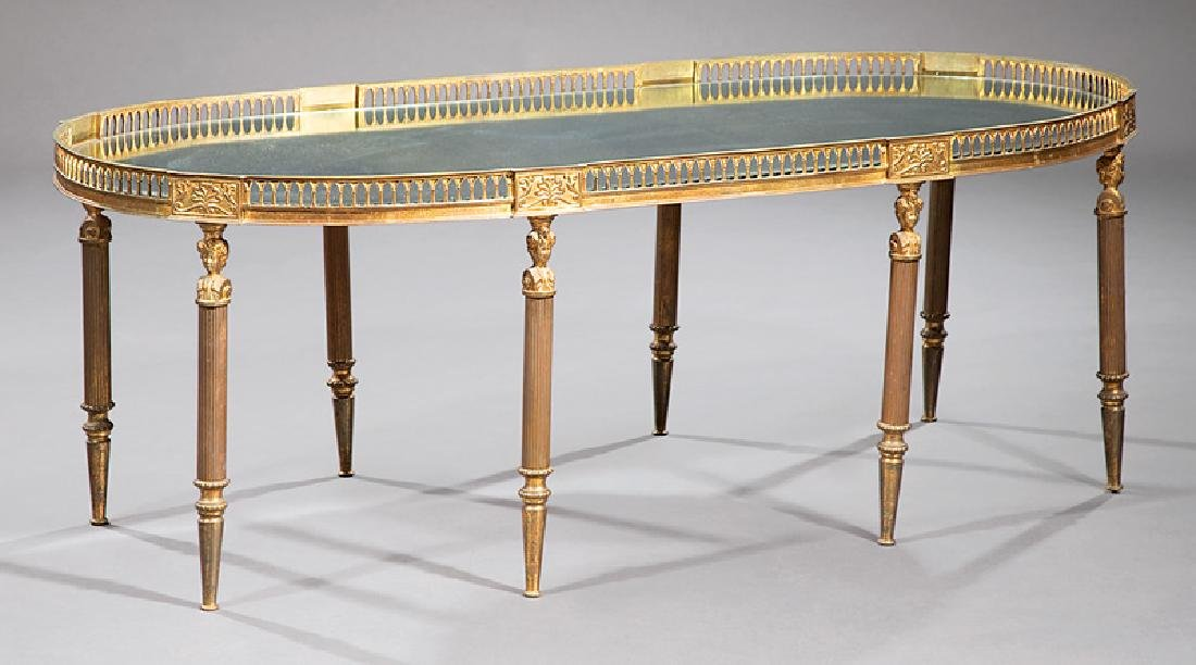 Empire-Style Bronze Low Table