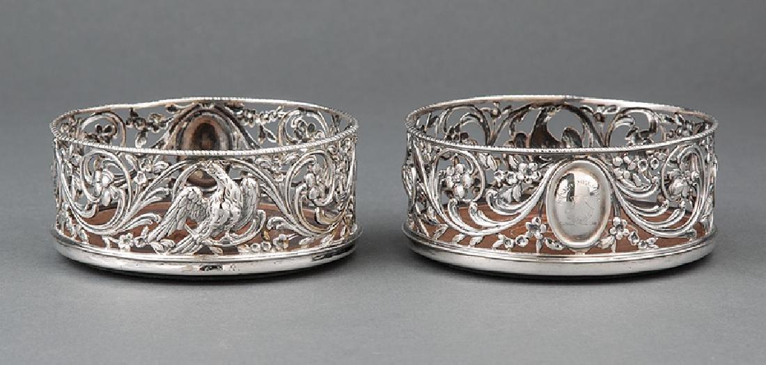 George III Sterling Silver Wine Coasters
