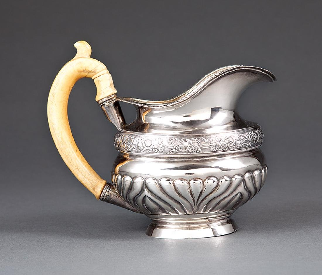Stahle Silver Cream Pitcher