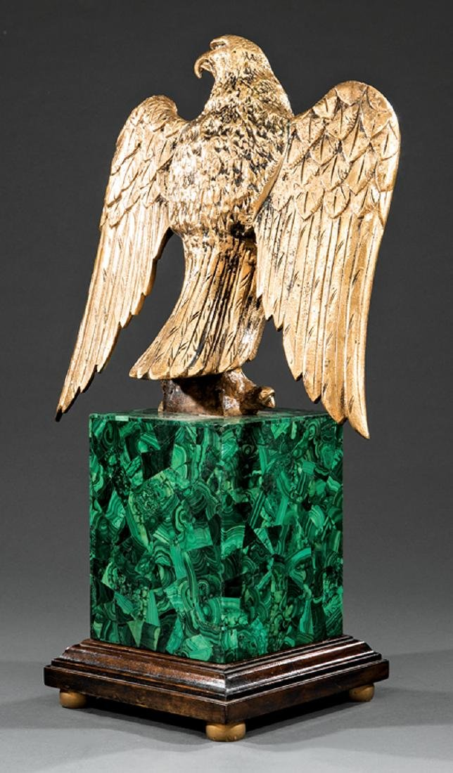 Gilt Bronze Figure of a Spreadwing Eagle - 3