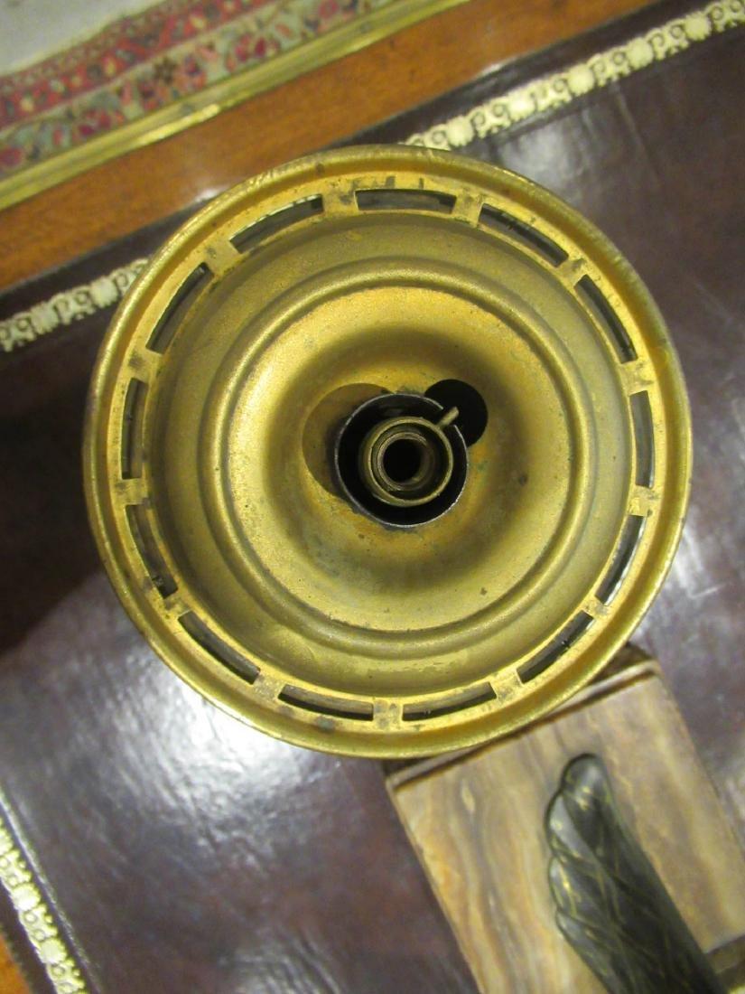 American Gilt Bronze Solar Lamp, Hooper - 4