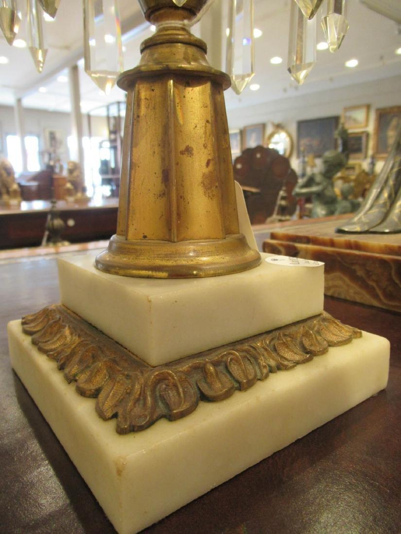 American Gilt Bronze Solar Lamp, Hooper - 8