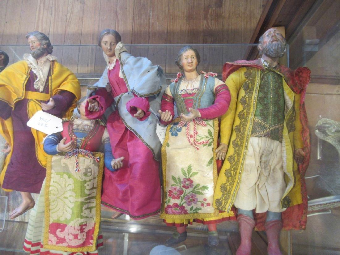 Twelve Neapolitan Creche Figures - 2