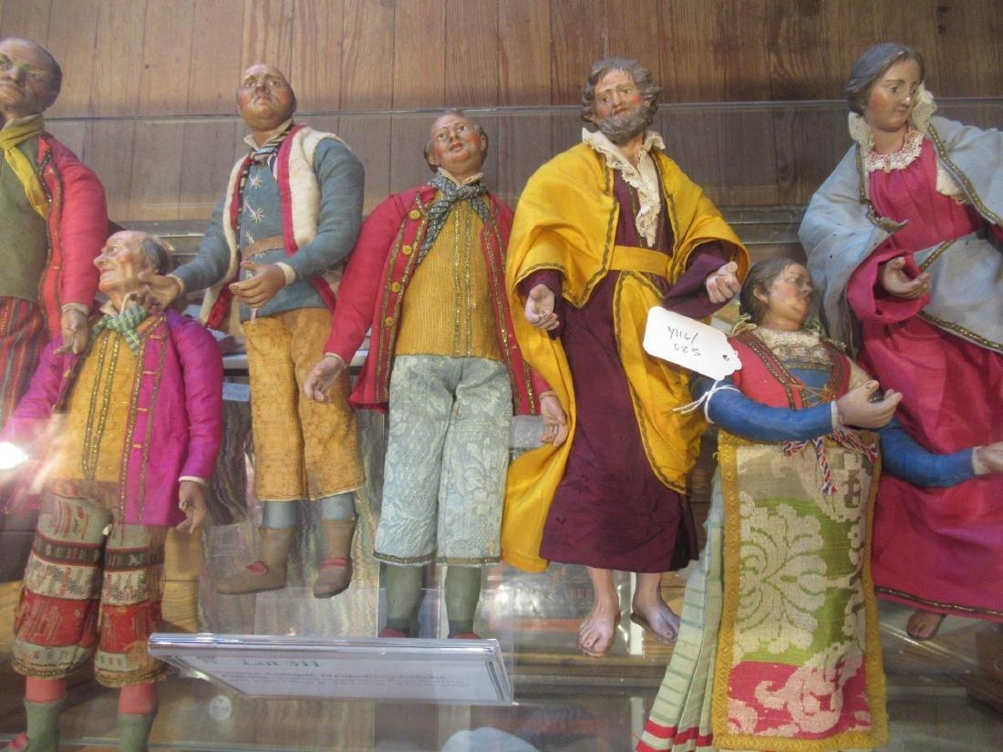 Twelve Neapolitan Creche Figures - 3