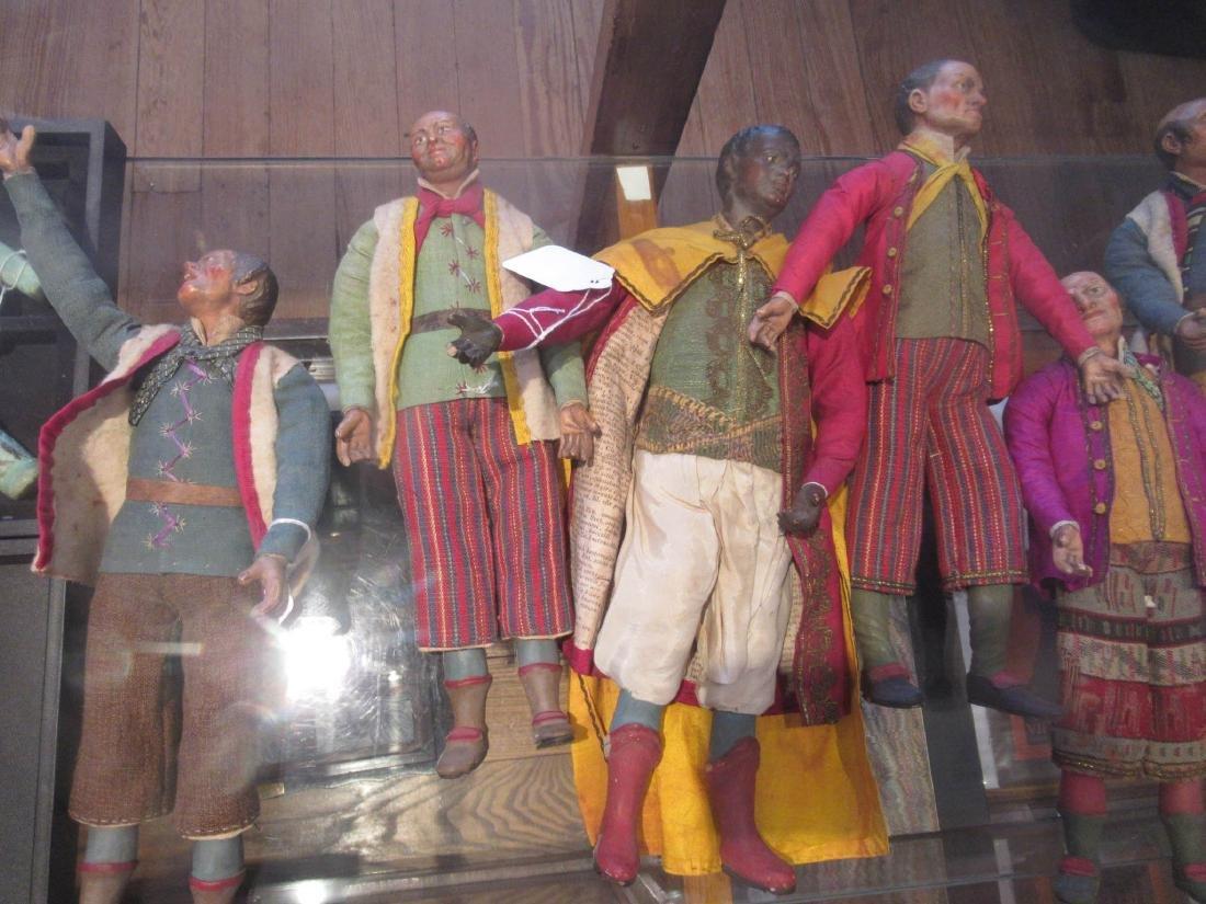 Twelve Neapolitan Creche Figures - 5
