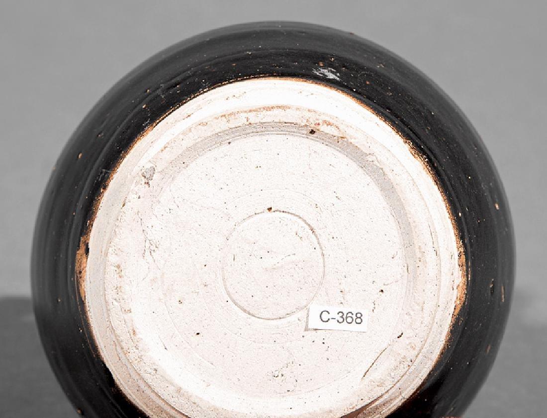 Chinese Black Glazed Pottery Ewer - 2