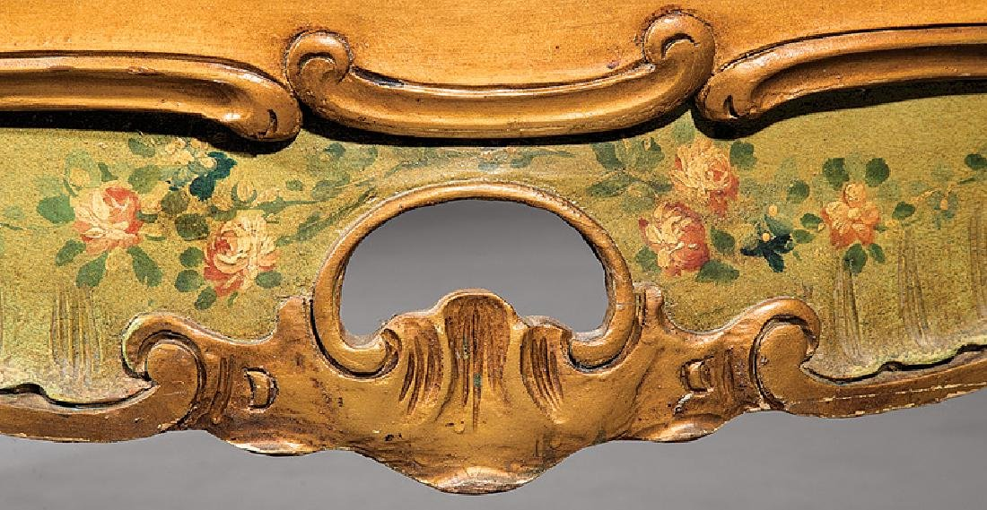 Venetian Carved and Painted Bombé Commode - 5