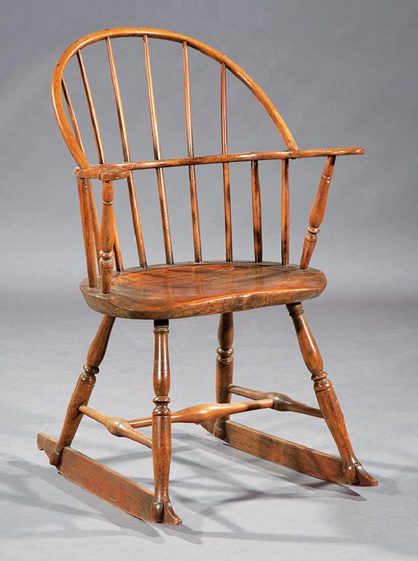 """Mixed Woods Rocking Chair, """"Wigglesworth"""""""