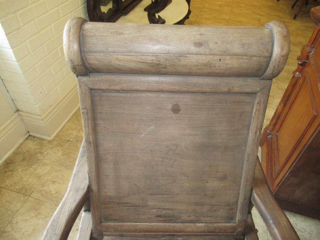 Chinese Hardwood Reclining Sedan Chair - 4