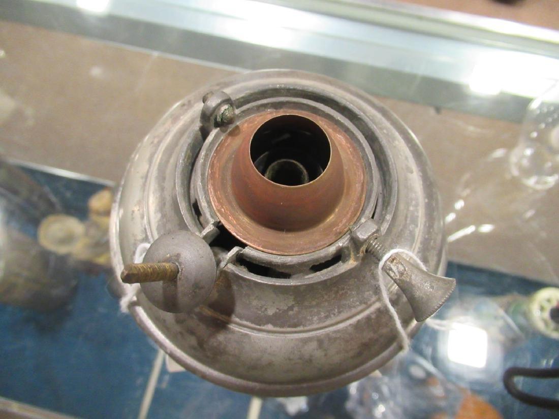 Pewter Kerosene Lamp, Endicott and Sumner - 5