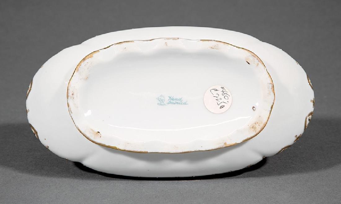Japanese Noritake Polychrome Porcelain Vase - 2