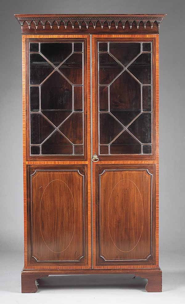 0015: Antique George III-Style Bookcase