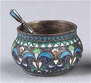 0190: Imperial Russian .875 Silver Salt Spoon