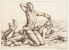 0527 Paul Cadmus Two Boys on a Beach no 1