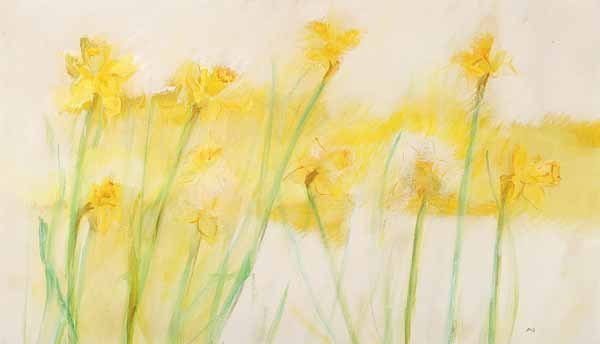 0736: Zella Funck, three oils on canvas