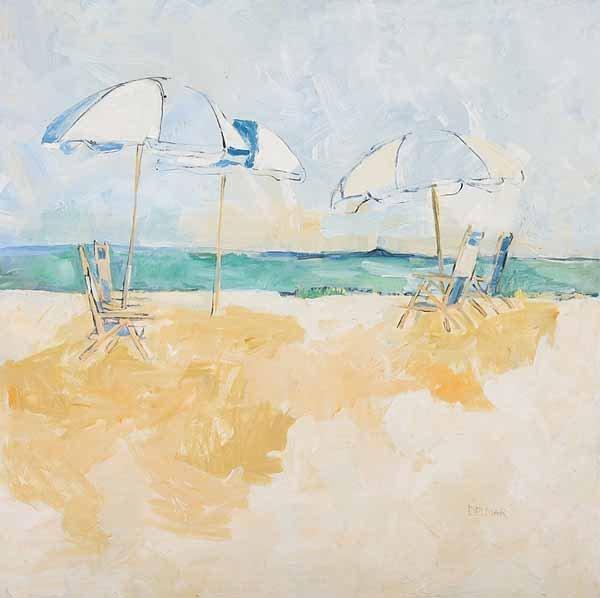 0737: Rise Delmar Ochsner, oil on canvas, signed