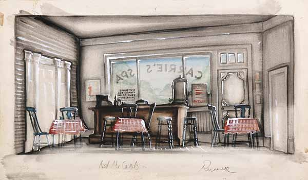 0740: James L. Russell, watercolor on board