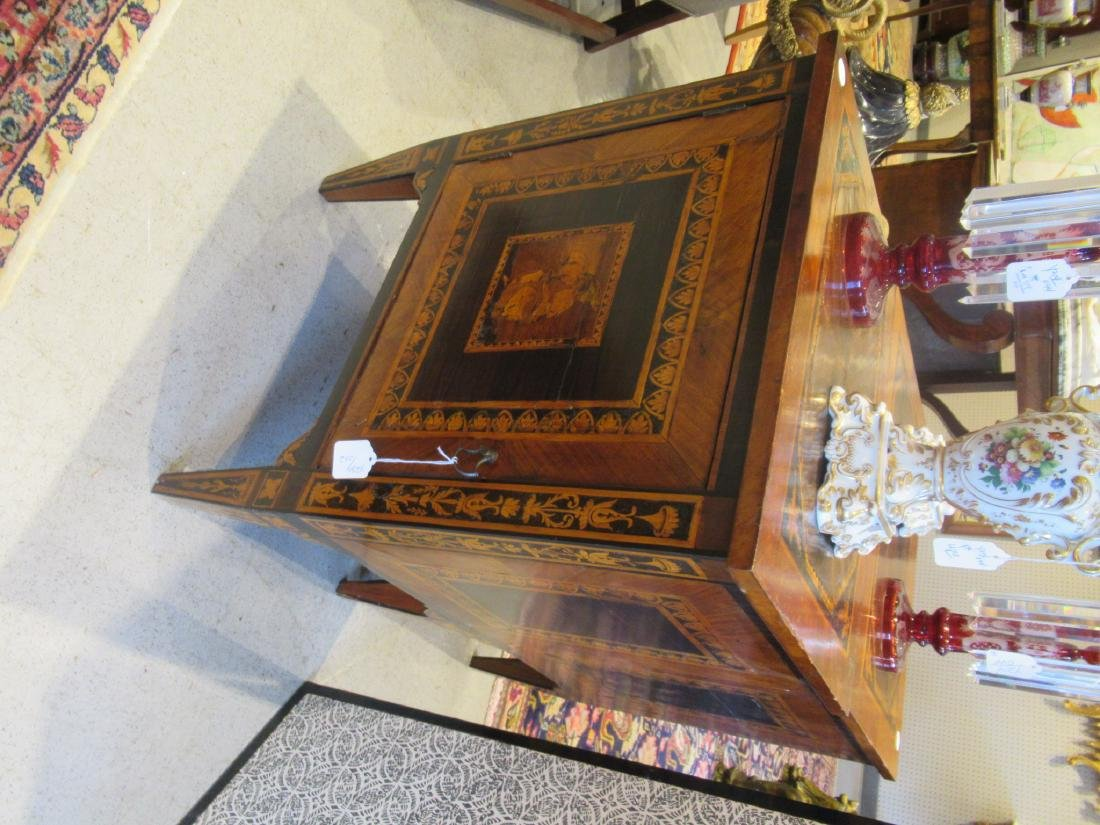 Italian Parquetry and Marquetry Petite Commodes - 4