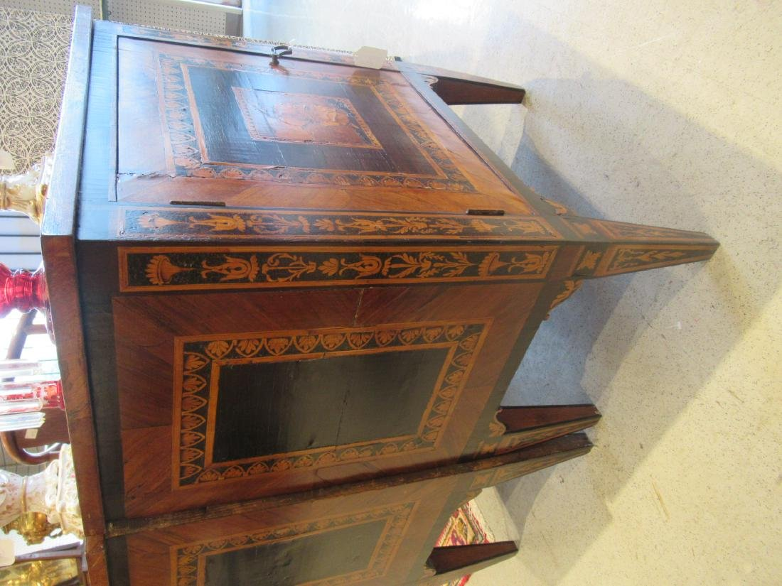 Italian Parquetry and Marquetry Petite Commodes - 6