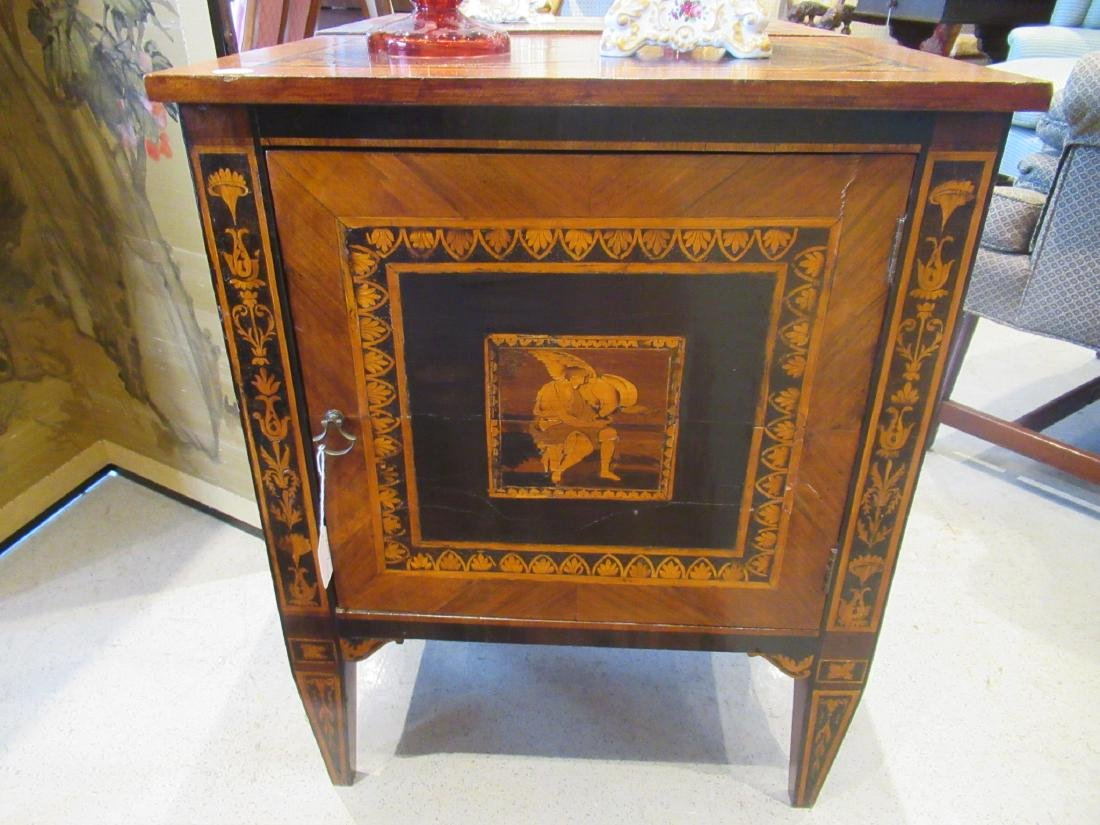 Italian Parquetry and Marquetry Petite Commodes - 7