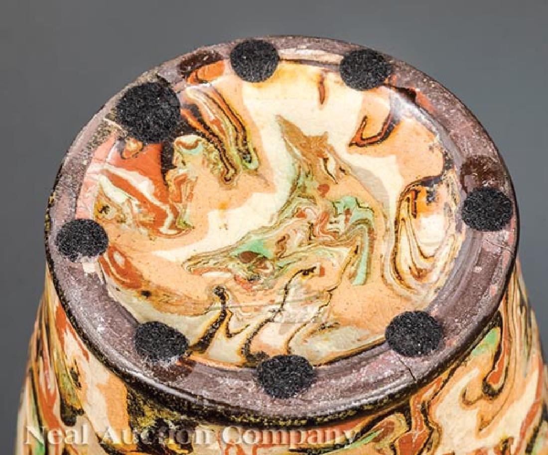 French Art Nouveau Mixed-Earth Pichon Vases - 2