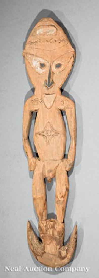 Six Oceanic Wood Carvings