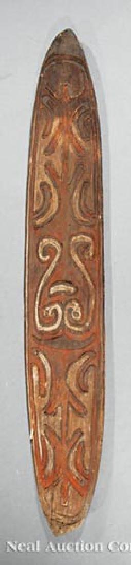 Six Oceanic Wood Carvings - 2