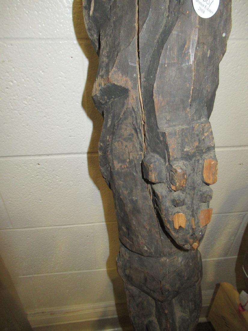 Six Oceanic Wood Carvings - 6