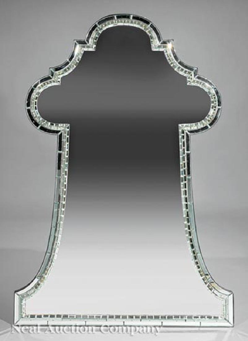 "Jonathan Burden Limited Edition ""Keyhole"" Mirror"