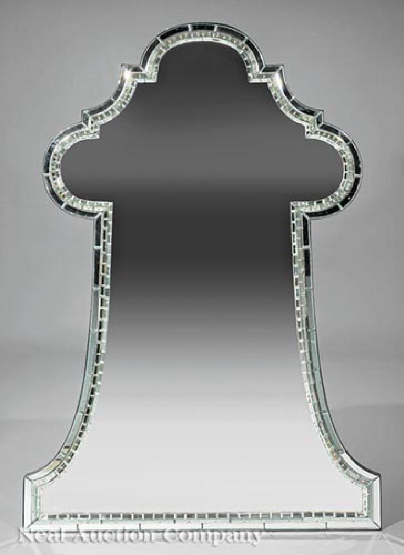"Jonathan Burden Limited Edition ""Keyhole"" Mirror"