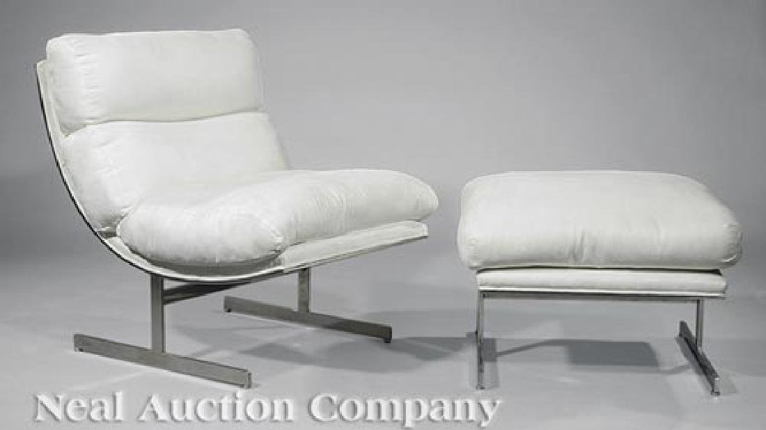 Kipp Stewart Directional Lounge Chair and Ottoman - 2