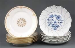 Meissen Porcelain Luncheon Plates