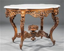 Laminated Rosewood Center Table attr. Meeks