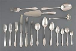 Tiffany Sterling Silver Flatware Service